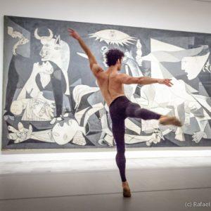 Josué Ullate con 'Quiebro' en el Día Internacional de la Danza en el Reina Sofía – Abril de 2014