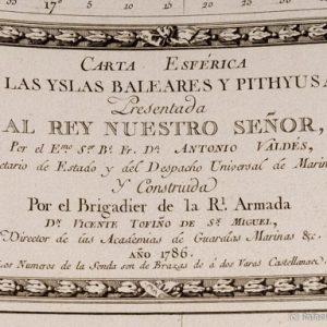 Restauración del 'Atlas Marítimo de España' de Tofiño en el Museo Cerralbo – Abril de 2014